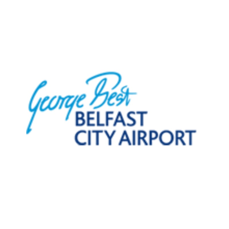 George Best Belfast City Airport Logo
